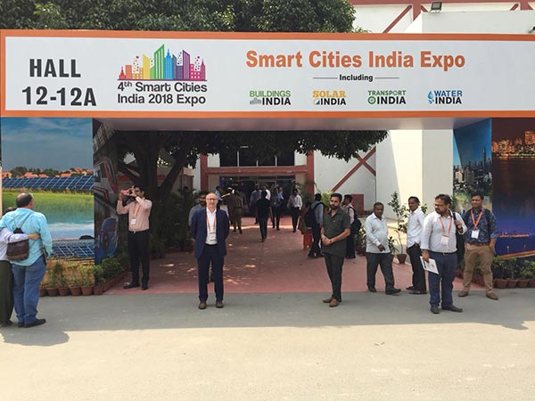 NIBUG en Smart Cities India  2018 Expo